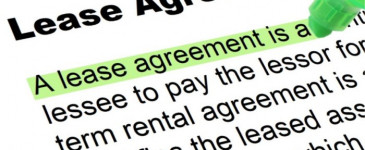 New lease agreement